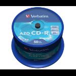 Verbatim CD-R AZO Crystal 700 MB 50 pc(s)