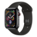 Apple Watch Series 4 reloj inteligente Negro OLED Móvil GPS (satélite)