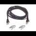Belkin Patch cable - RJ-45(M) - RJ-45(M) - 15m - UTP ( CAT 5e ) - black