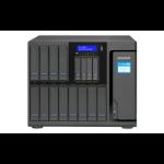 QNAP TS-1685 NAS Desktop Ethernet LAN Black D-1531