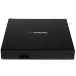 "StarTech.com SLSODDU33B ODD enclosure 5.25"" SATA Black"
