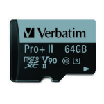 Verbatim 99168 memory card 64 GB MicroSDXC Class 10 UHS-II