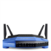 Linksys WRT1900ACS Wi-Fi Ethernet LAN Dual-band Black, Blue