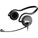 Plantronics Audio 345 Binaural Neck-band Black headset