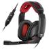Sennheiser GSP 350 auricular con micrófono Diadema Binaural Negro, Rojo