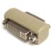 StarTech.com GCDVIIFF cambiador de género para cable DVI-I Beige