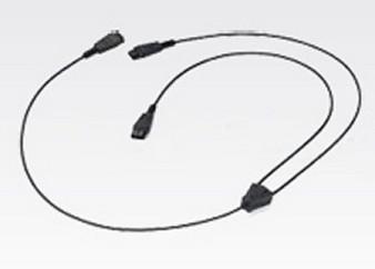 Zebra Headset Training Vxi Qd Cable - Black (25-129938-02R)