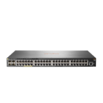 Hewlett Packard Enterprise Aruba 2930F 48G PoE+ 4SFP Managed L3 Gigabit Ethernet (10/100/1000) Power over Ethernet (PoE) 1U Gray