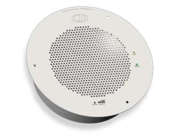 CyberData Systems Syn-Apps enabled VoIP V2 White loudspeaker
