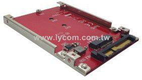 M.2 NVMe SSD to U.22.5- NVMe SSD Adapter