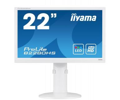 "iiyama ProLite B2280HS-W1 21.5"" White Full HD"