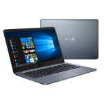 "ASUS E406MA-BV009TS notebook Gray 35.6 cm (14"") 1366 x 768 pixels Intel® Celeron® 4 GB LPDDR4-SDRAM 64 GB eMMC Wi-Fi 5 (802.11ac) Windows 10 Home"