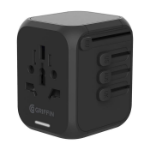 Griffin GP-140-BLK power plug adapter Universal Black