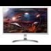 "LG 27UD59-W LED display 68.6 cm (27"") 4K Ultra HD Flat Silver,White"