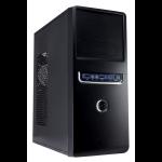 CIT 1018 Black/Silver Midi Case 500W PSU
