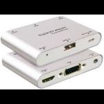 Microconnect MC-DIGAVADAPT AV receiver Surround Silver