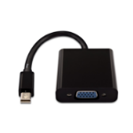 V7 Black Video Adapter Mini DisplayPort Male to VGA Female