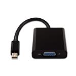 V7 Mini DisplayPort a adaptador VGA color negro