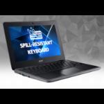 "Acer Chromebook C733U-C2XV 29.5 cm (11.6"") 1366 x 768 pixels Intel® Celeron® 4 GB LPDDR4-SDRAM 32 GB eMMC Wi-Fi 5 (802.11ac) Chrome OS Black"