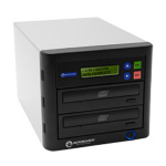 Microboards Technology QuicDisc DVD; 1 x DVD?RW (22x); 1 to 1 Stand-Alone Disc Duplicator; from Hypertec