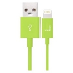 Urban Factory CID05UF 1m USB Lightning Green mobile phone cable