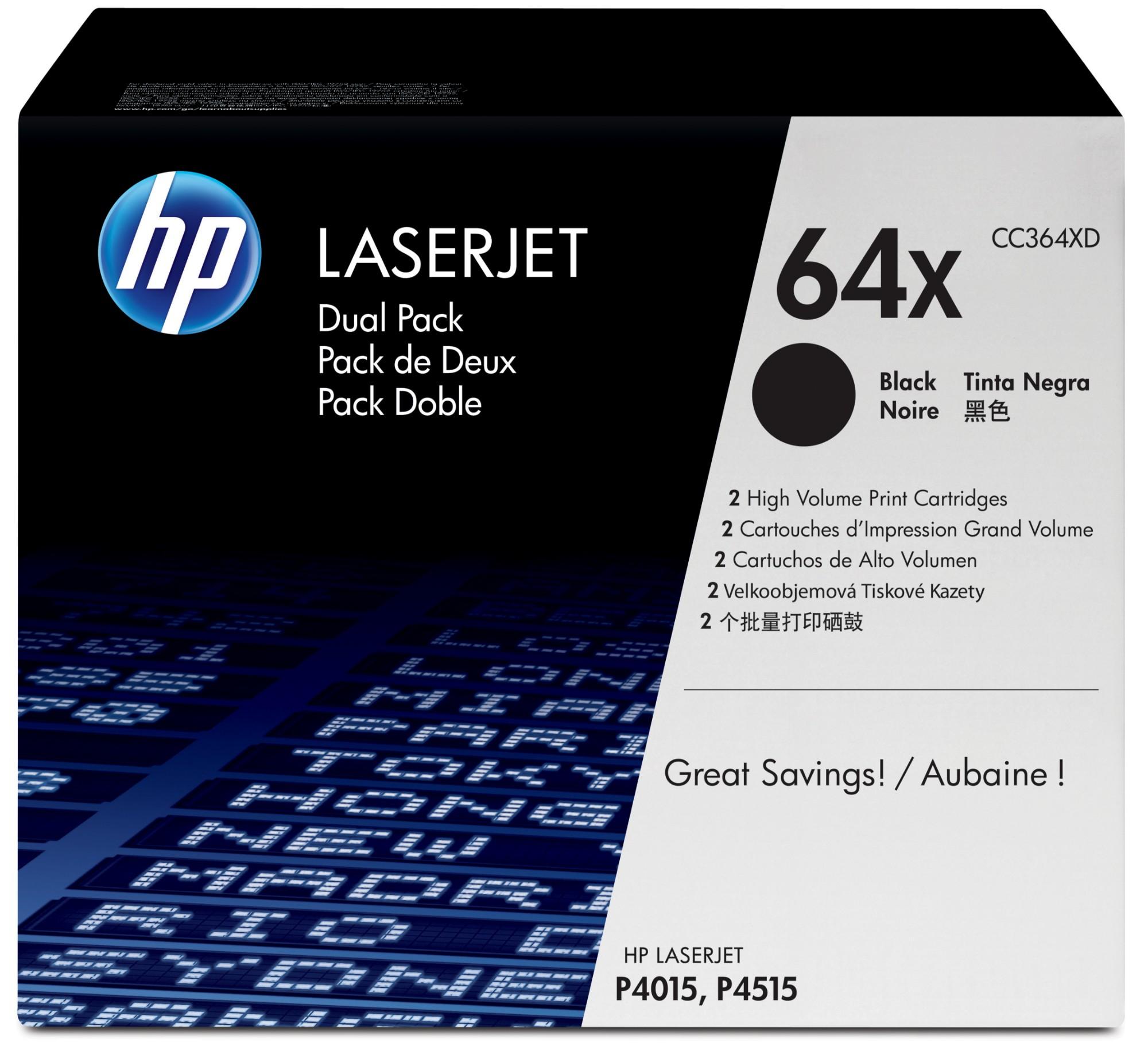 HP 64A Origineel Zwart 1 stuk(s)