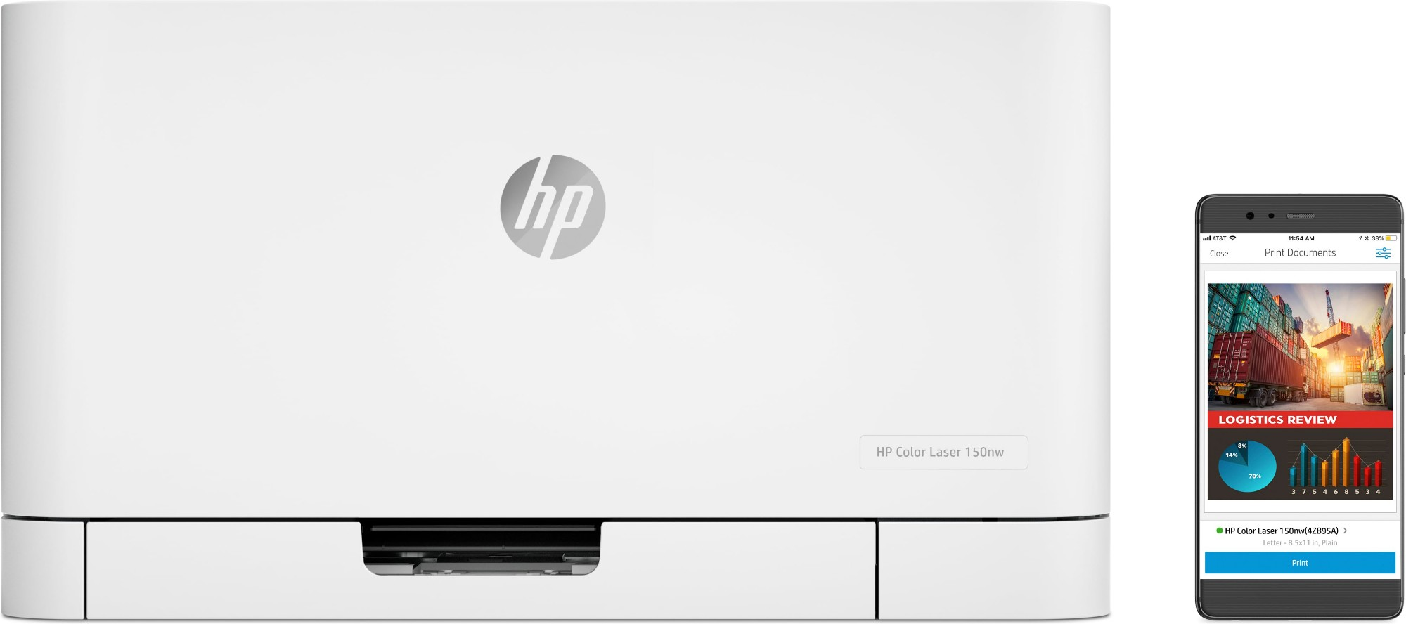 HP Color Laser 150a Colour 600 x 600 DPI A4