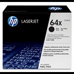 HP 64X originele high-capacity zwarte LaserJet tonercartridge