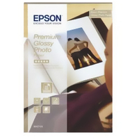 Epson Premium Glossy Photo Paper, 100 x 150 mm, 255g/m², 40 Sheets