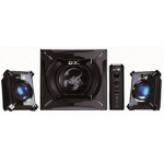 Genius SW-G2.1 2000 2.1channels 45W Black speaker set