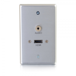 C2G 39871 wall plate/switch cover Aluminum