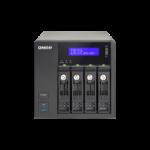 QNAP TVS-471-i3-4G 32TB (Seagate Enterprise Capacity) 4 bay desktopTurboNAS; Intel Core i3-4150 3.5 GHz D