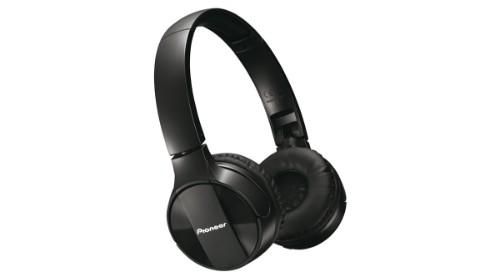 Pioneer SE-MJ553BT Black Supraaural Head-band headphone