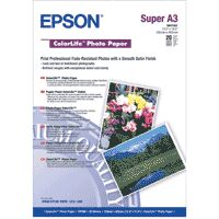 Epson ColorLife Photo Paper, DIN A3+, 245g/m², 20 Sheets
