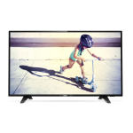 "Philips 4000 series 43PFT4132/05 Refurb Grade C LED TV 109.2 cm (43"") Full HD Smart TV Black"