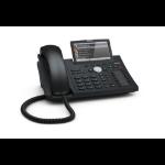 Snom D375 IP phone Black 12 lines TFT