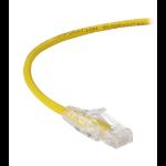 Black Box CAT6 0.9m networking cable U/UTP (UTP) Yellow