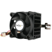 StarTech.com Ventilador para CPU Socket 7/370 de 50x50x41mm con Disipador de Calor y Conectores TX3 y LP4