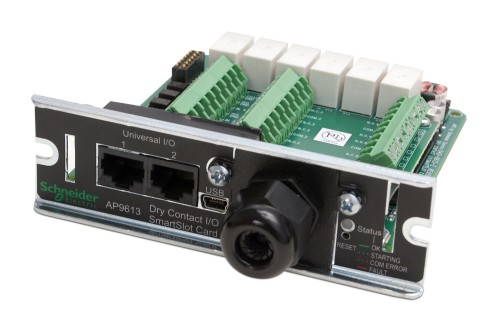 APC AP9613 digital/analogue I/O module Relay channel