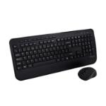 V7 CKW300UK Full Size/Palm Rest English QWERTY - Black