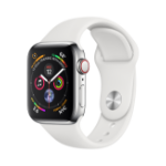 Apple Watch Series 4 smartwatch Edelstahl OLED Cellular GPS