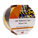 3M REFLECTIVE TAPE 3M 50MMX3M 7930 YELLOW/BLACK ( EACH )