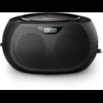 Philips AZB200/12 portable stereo system Analog & digital 2 W Black