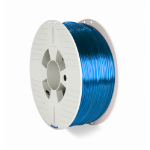 Verbatim 55064 3D printing material Polyethylene Terephthalate Glycol (PETG) Blue,Transparent 1 kg