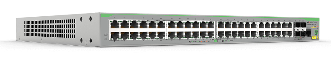 Allied Telesis FS980M/52PS Gestionado L3 Fast Ethernet (10/100) Gris Energía sobre Ethernet (PoE)