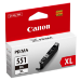 Canon CLI-551XL BK cartucho de tinta 1 pieza(s) Original Alto rendimiento (XL) Foto negro