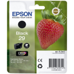 Epson C13T29814012 Ink cartridge black, 175 pages, 5ml