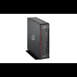 Fujitsu ESPRIMO Q556 2.2GHz i5-6400T 2L sized PC Black,Red Mini PC
