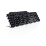 DELL KB522 keyboard USB QWERTZ German Black