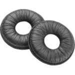 Plantronics 67712-01 headphone pillow Black Leatherette 2 pcs